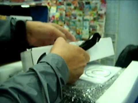 ЕМС получение посылки в присутствии работников почты