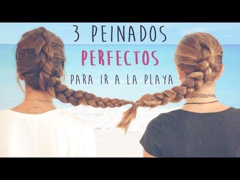 3 PEINADOS PARA LA PLAYA | Aina Pons