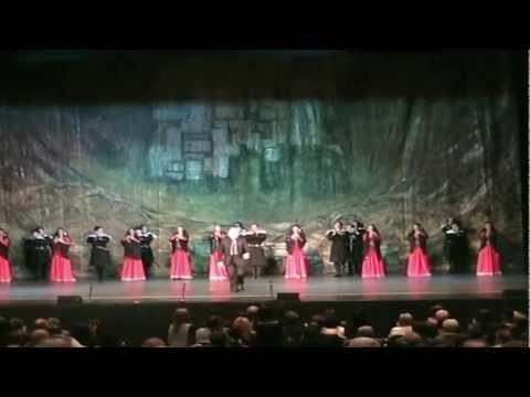 "GERMANY 2011-2012   National Ballet Potskhishvili. ""Georgian Fire"""