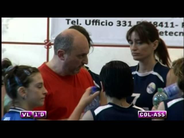 Colonnetta vs Assport Roma 3 Piva - 2° Set