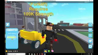 Superhero City- Grinding 1Million Strength(ROBLOX)