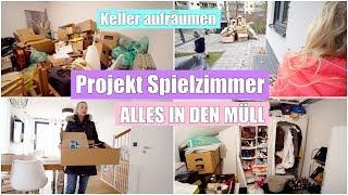 Alles muss raus! 😱 | Keller entrümpeln & aussortieren | Projekt Turnhalle | Isabeau