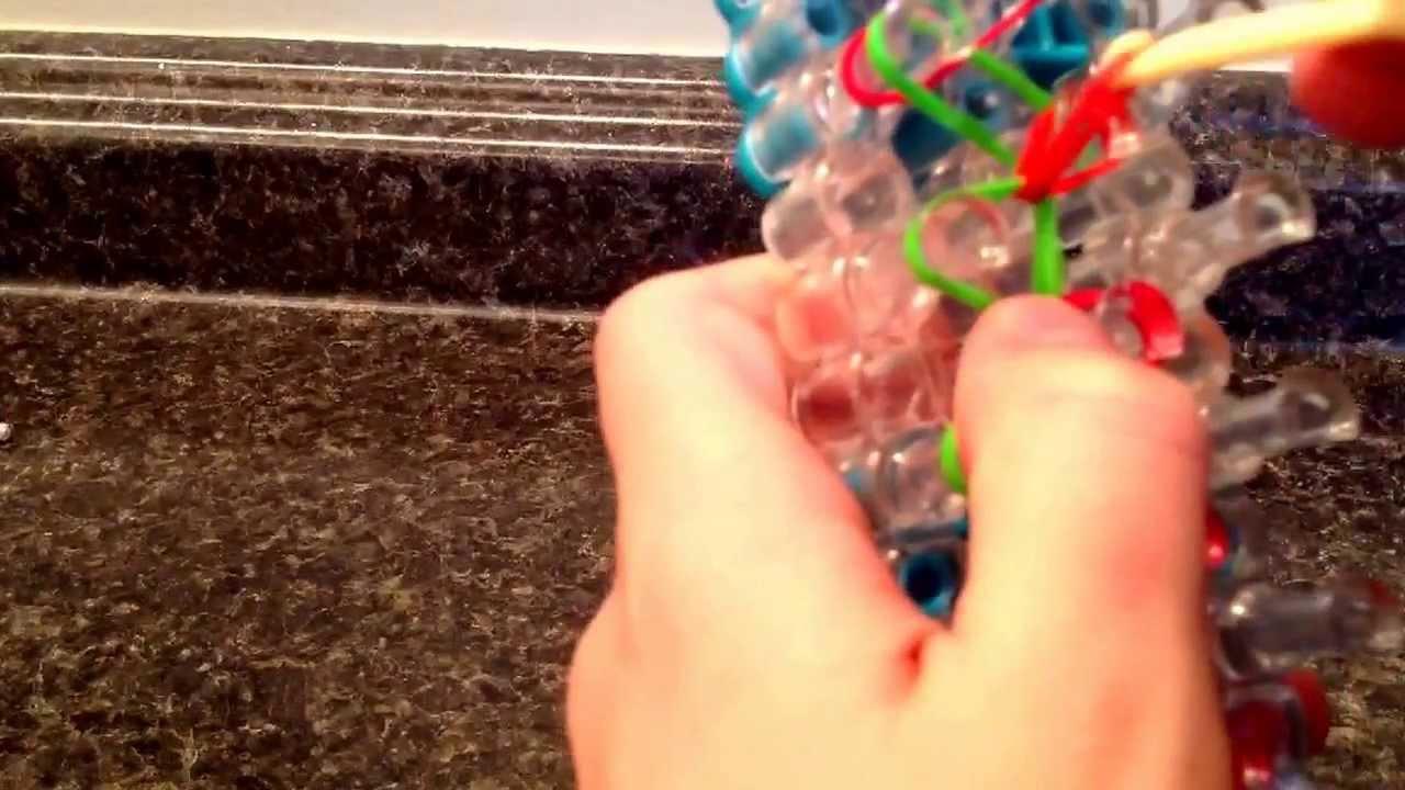 How To Make A Rainbow Loom Dog Collar Youtube
