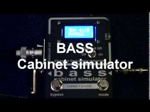 Bass Cabinet Simulator Youtube