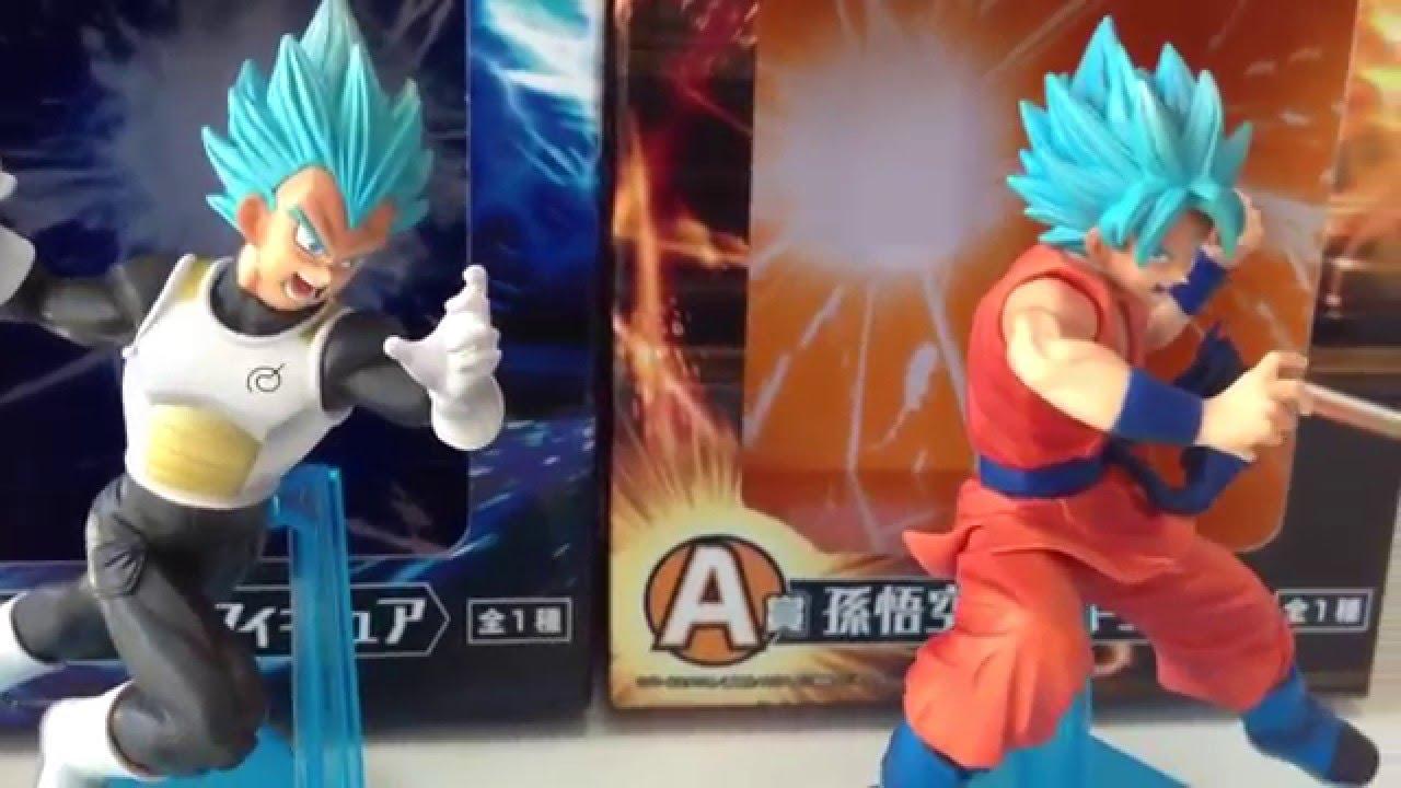 Dragon Ball Ichiban kuji SSGSS Vegeta Figures F//S