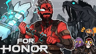 I AM THE GOD OF THUNDER! | For Honor (w/ H2O Delirious, Rilla, & Squirrel)