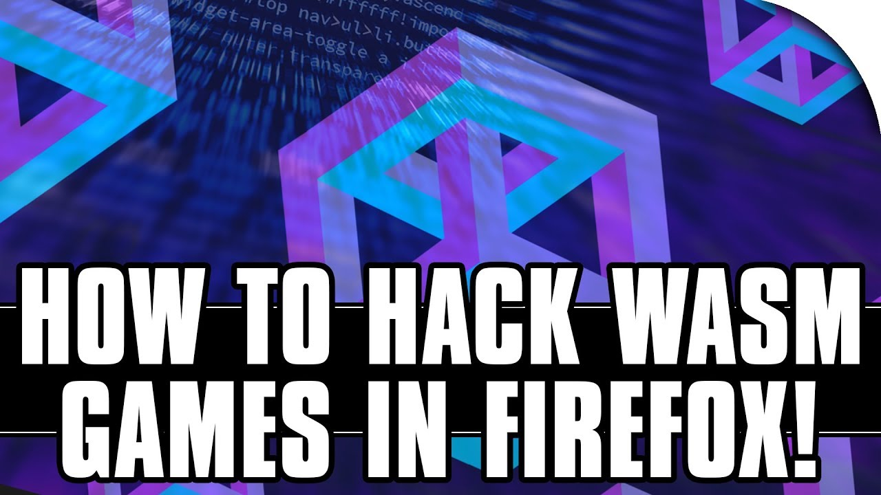 How to Hack WebAssembly Games in Firefox with Cheat Engine! [Funky Karts]