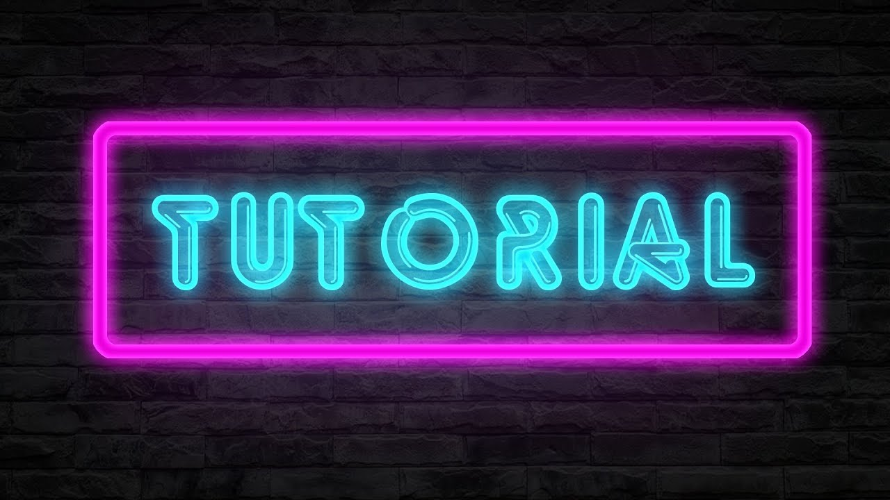 Neon text tutorial photoshop deutschhd60fps shadowfog neon text tutorial photoshop deutschhd60fps shadowfog baditri Image collections