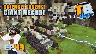 SCIENCE! MECHS! LASERS! | Truly Bedrock Season 2 [43] Minecraft Bedrock