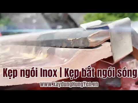 Kẹp Ngói Inox | Bắt Kẹp Ngói Sóng Tráng Men | Kẹp Ngói Men | Kẹp Ngói Sóng | Kẹp Ngói Sóng Inox