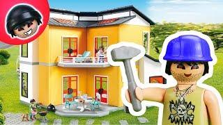 KARLCHEN KNACK #95 - Karlchen baut ein Haus! - Playmobil Polizei Film
