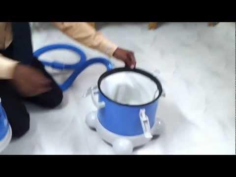Vaccum Cleaner Demo by Sundar at Chennai