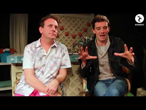 Hornet Chats With Drew Droege and Michael Urie About 'Bright Colors And Bold Patterns'