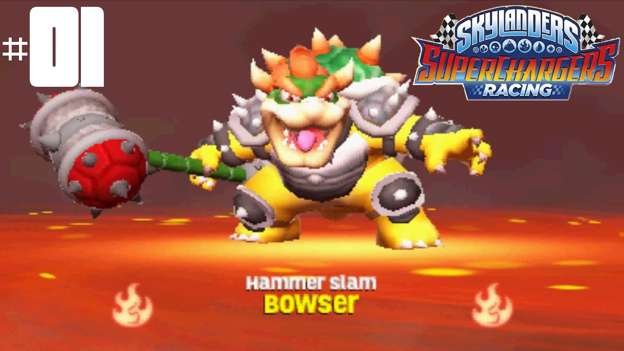 Skylanders Superchargers Racing S Part 1 Pedal To The Metal You