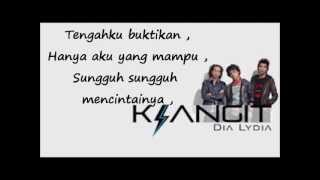 KLANGIT  Dia Lydia ( OFFICIAL LYRICS SONG )