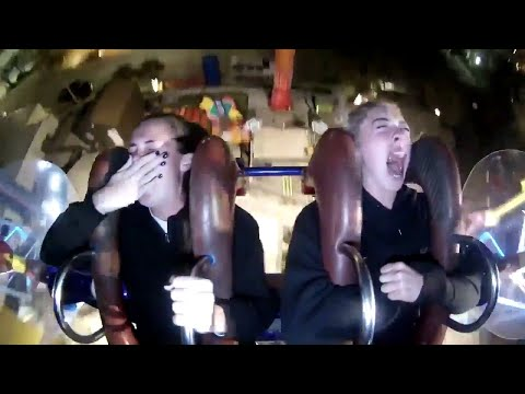 VIDEO: Cork woman's hilarious reaction to slingshot ride goes viral