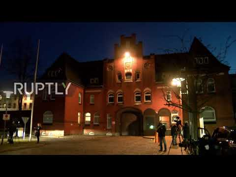 Germany: Reporters await release of Puigdemont from Neumunster prison