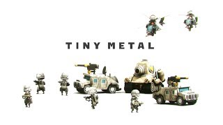 Tiny Metal - (Advance Wars Turn Based Strategy Game)