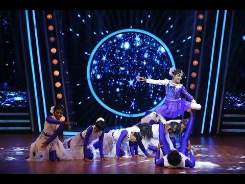 D4 Junior Vs Senior Grand Finale I Saniya with sweet melody I I Mazhavil Manorama