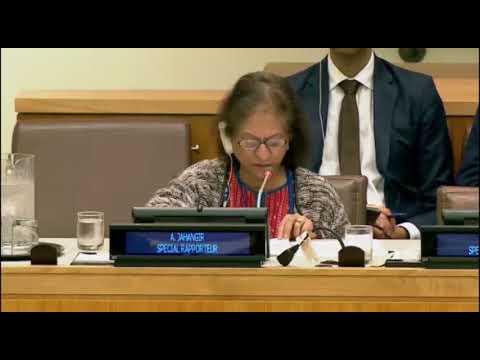 UN Special Rapporteur decries human rights violations by Iran regime