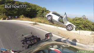 MOTORCYCLE CRASHES & FAILS || ANGRY PEOPLE vs.  BIKERS / ROAD RAGE / BAD DRIVER (#28)