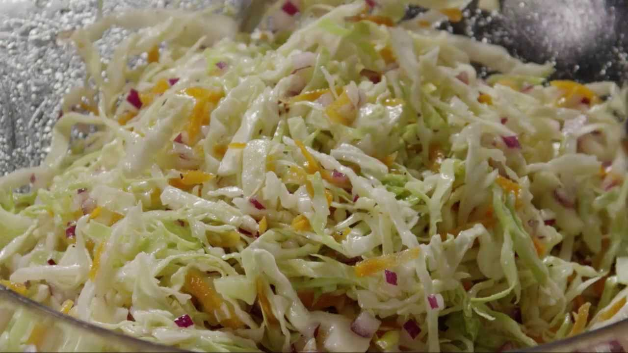 How to prepare a cabbage salad
