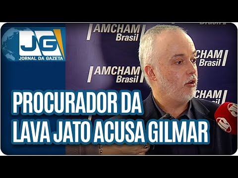 Procurador da Lava Jato acusa Gilmar