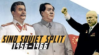 How did the Soviets and China become enemies - Cold War DOCUMENTARY