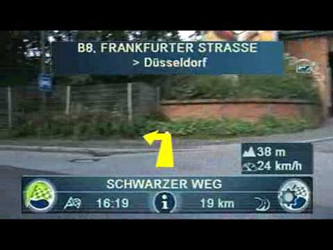 Blaupunkt Travelpilot 700 video navigation