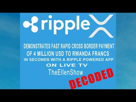 Ripple Powered 4 million USD to Rwandan Franc in 3 seconds