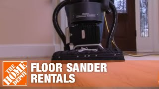 Tool Rental - Floor Sanders - The Home Depot