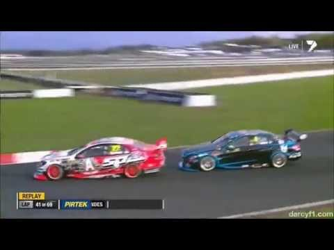 2014 ITM 500 Auckland Courtney off