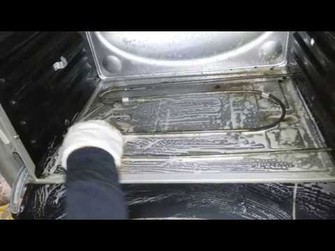 غسل الفرن الكهربائية بطريقة سهلة جداااااا/طالبة منكم طلب اخر الفديو