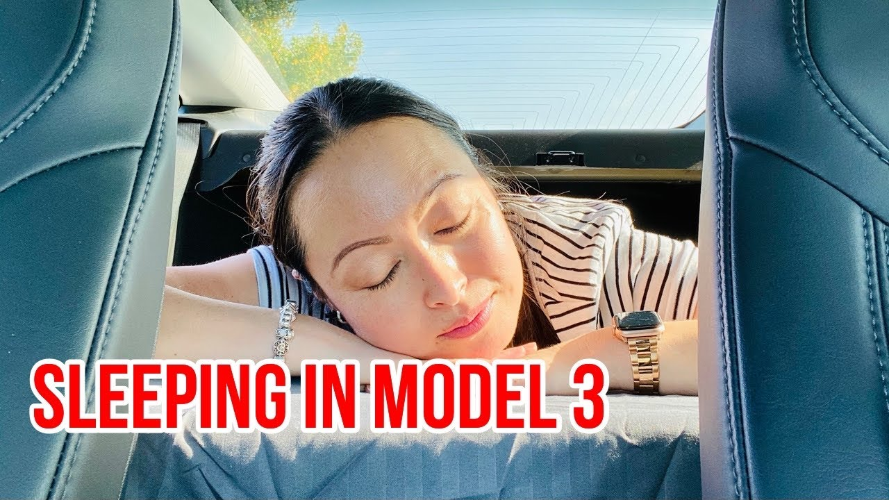 How To Camp Comfortably In Tesla Model 3