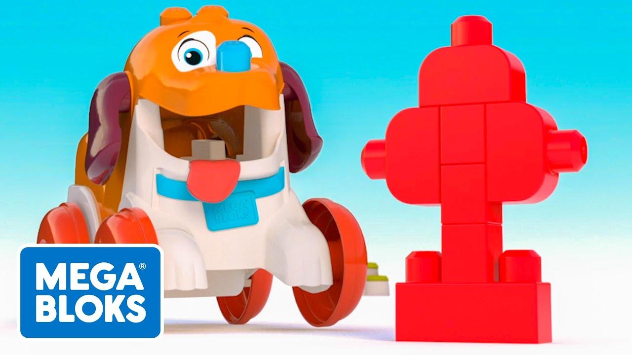 MEGA BLOKS™ | Cómo mantener a un cachorro ocupado| NUEVO! | Dibujos animados | Fisher-Price® España