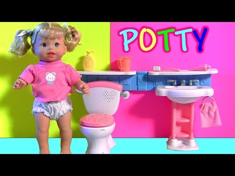 Learn Potty Training With Little Mommy Gotta Go Baby Doll
