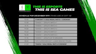 [LIVE] Esports @ SEA Games 2019 – Day 6: Gold Medal Matches for Tekken 7 and Starcraft 2 thumbnail