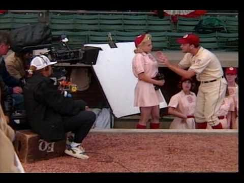 A League of Their Own  Behind the scenes footage