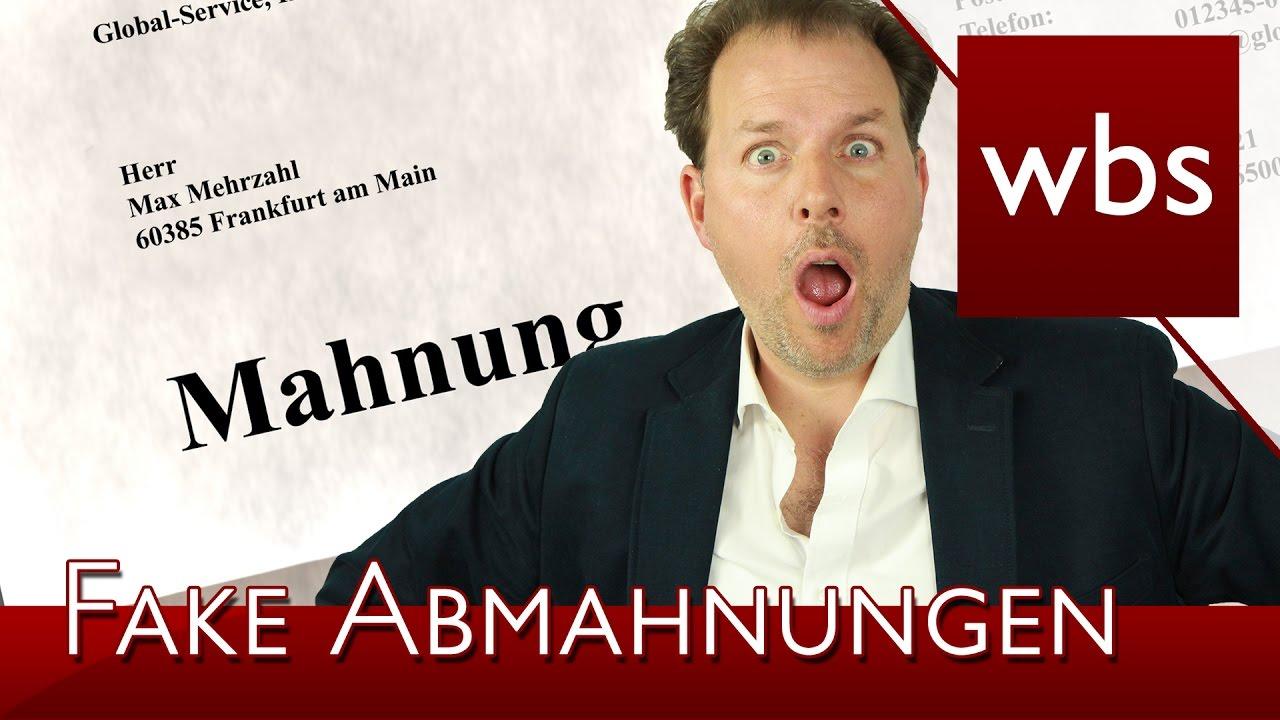 Achtung Vor Fake Abmahnung Durch Die Kanzlei Schmidt