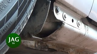 Jaguar S-Type R DOOR SILL INSPECTION