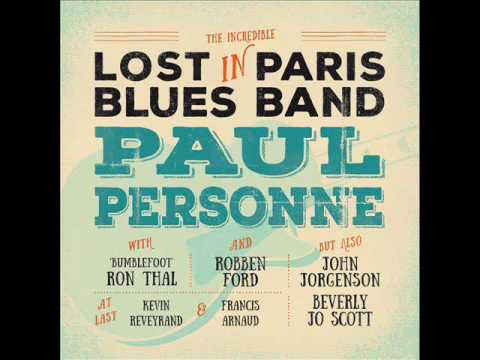 PAUL PERSONNE - Fire Down Below