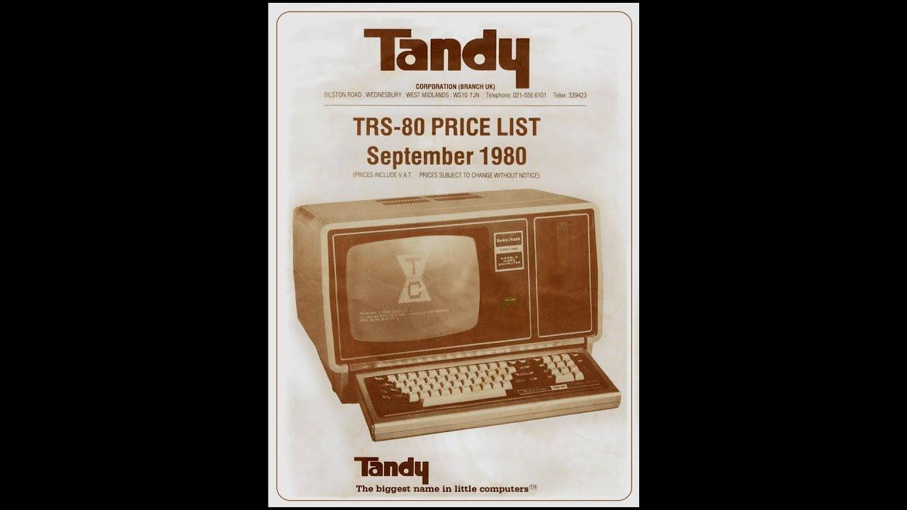 1980 Tandy Electronics - September TRS-80 Price List (UK)