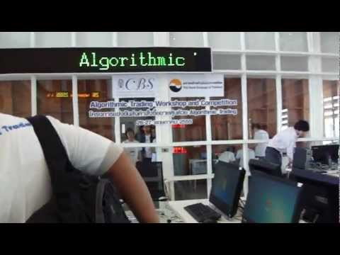 Algorithmic Trading Workshop & Competition Day1 01
