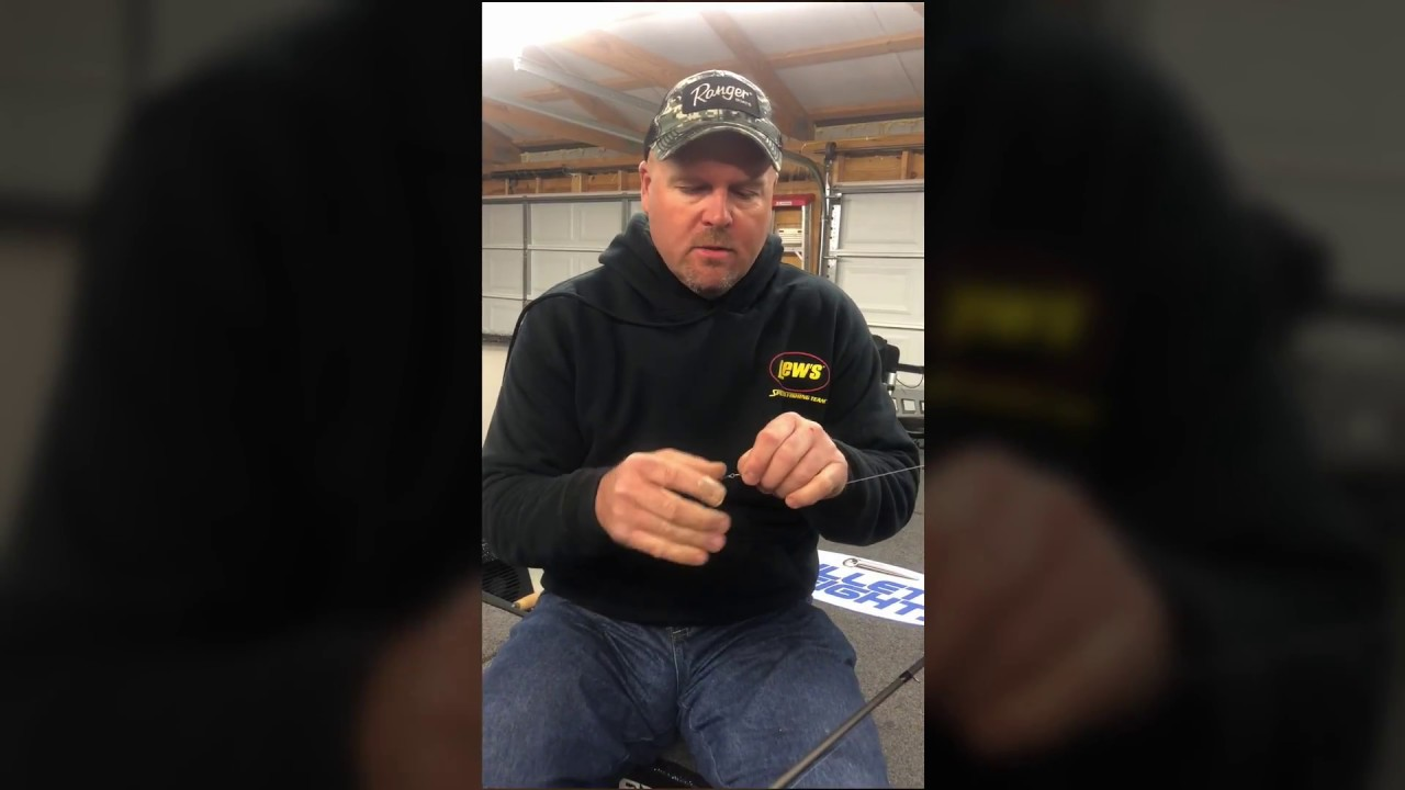 Carolina Rig Tip from FLW Pro Jeremy Lawyer