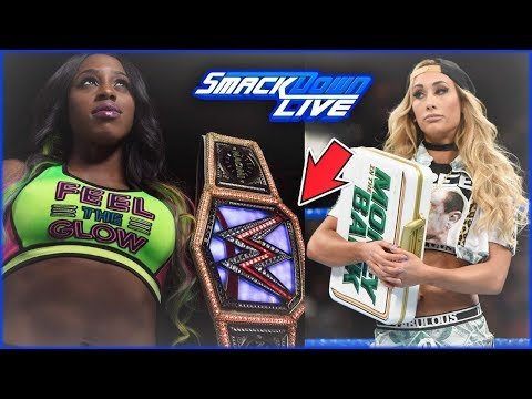REAL REASON WHY NAOMI MAY KEEP THE WOMEN'S TITLE UNTIL NEXT YEAR (SD LIVE)