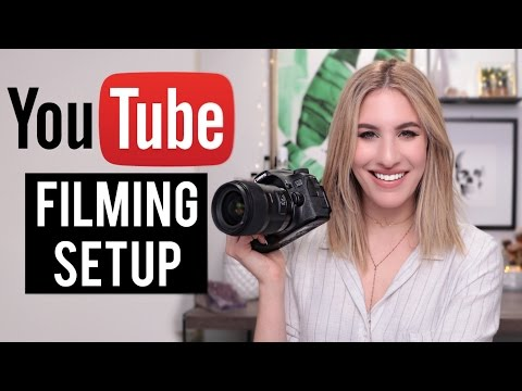 Perfect FILMING SETUP For BEAUTY VIDEOS: Lighting, Camera, Sound | Jamie Paige