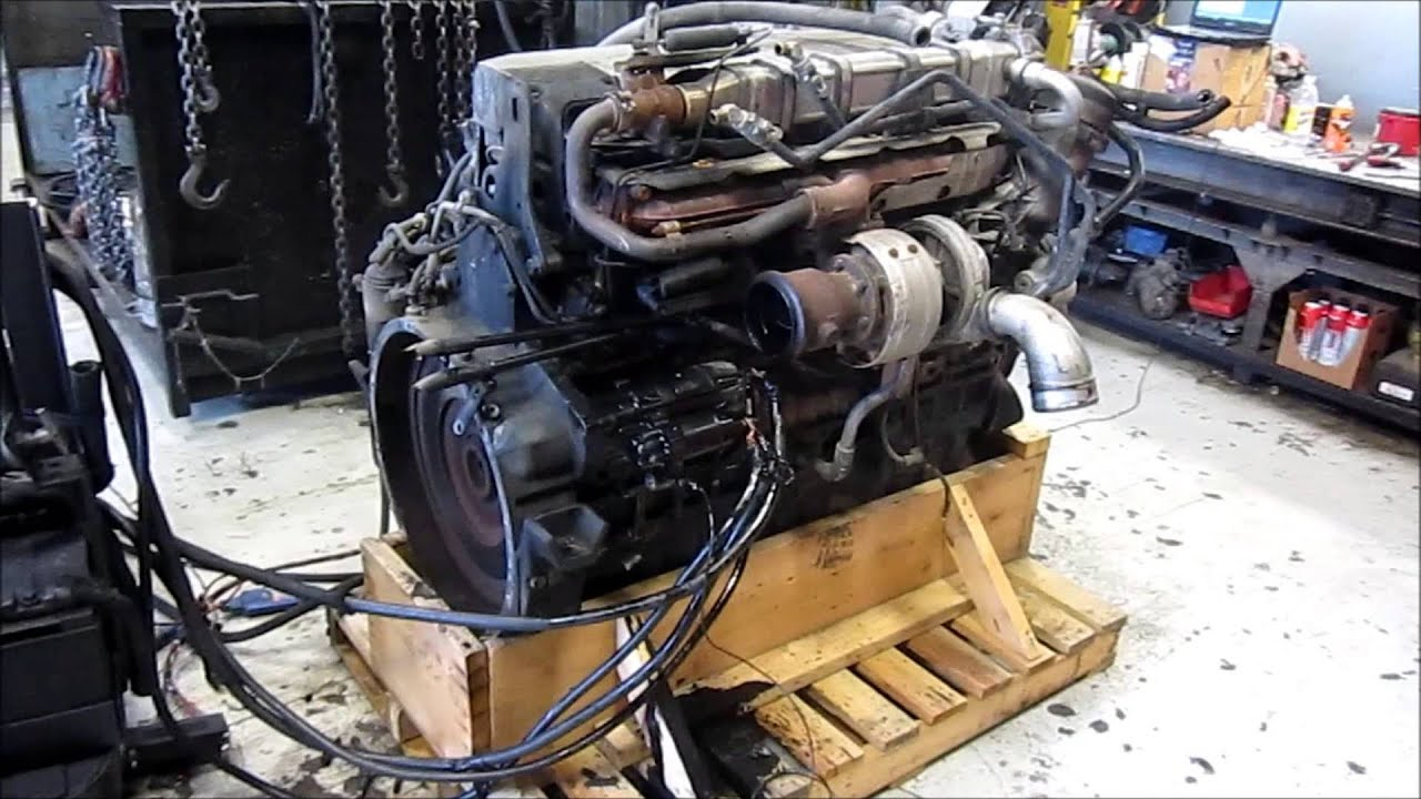 2006 mercedes om460 egr diesel engine youtube for Mercedes benz diesel engines