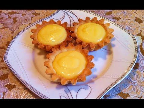 Пирожное Корзиночка с белковым заварным кремом