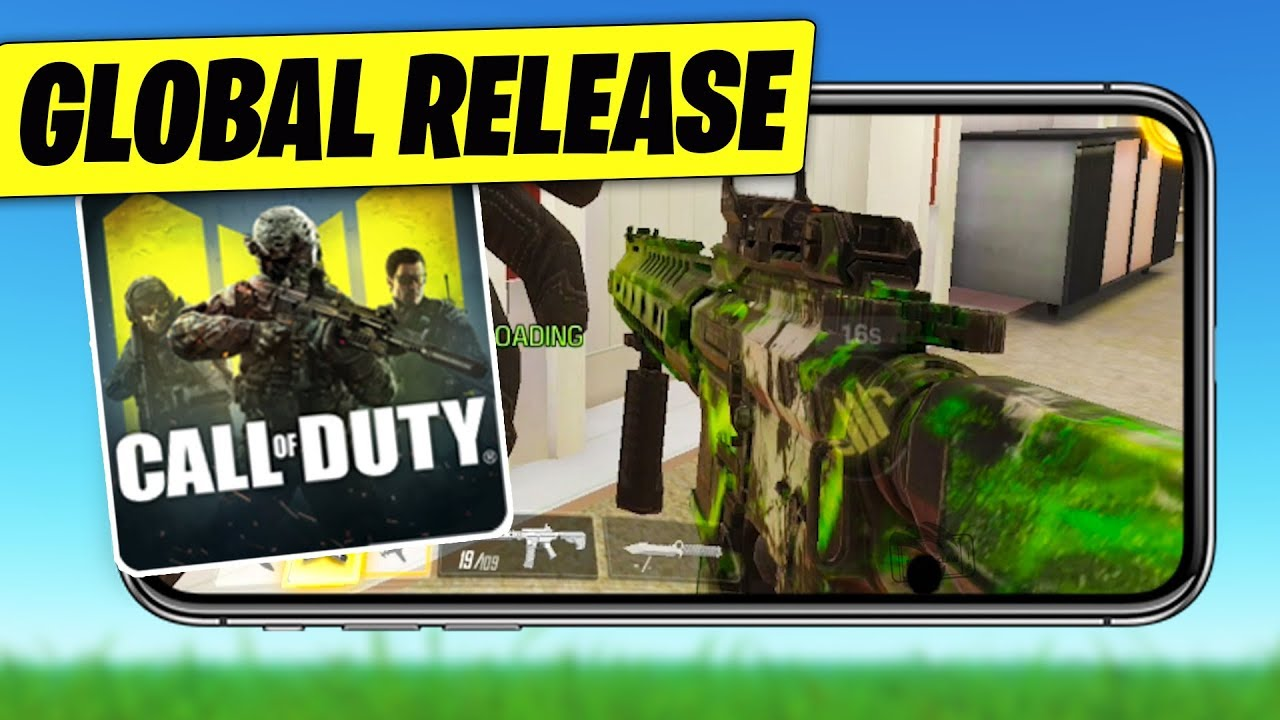 Call of Duty Mobile GLOBAL RELEASE..
