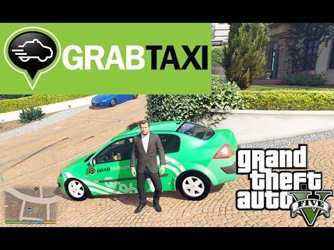 GTA 5 - Chạy Grab Taxi cùng Micheal